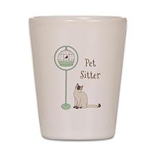Pet Sitter Shot Glass