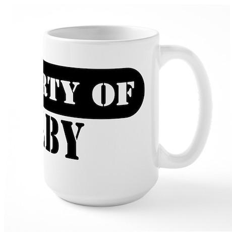 Property of Colby Large Mug