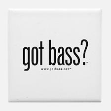 got bass?  Tile Coaster
