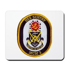 USS SENTRY Mousepad