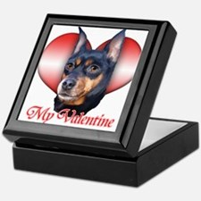 Min Pin Valentine Keepsake Box