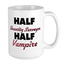 Half Quantity Surveyor Half Vampire Mugs