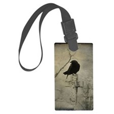 Halloween Crow Luggage Tag