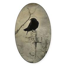 Halloween Crow Decal