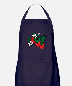 Strawberries Apron (dark)