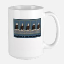 Bald Eagle Laughter - Mug