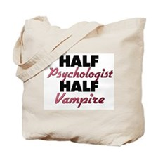 Half Psychologist Half Vampire Tote Bag
