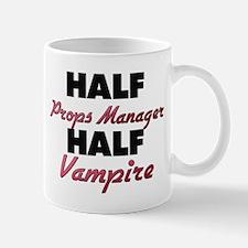 Half Props Manager Half Vampire Mugs