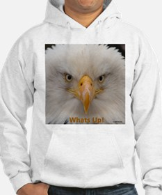 Whats Up Bald Eagle Hoodie