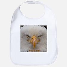 Whats Up Bald Eagle Bib