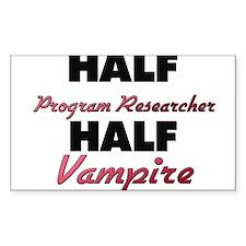 Half Program Researcher Half Vampire Decal