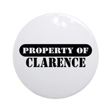 Property of Clarence Ornament (Round)