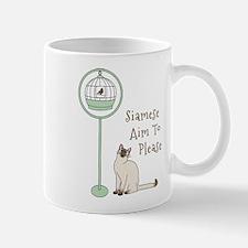 Siamese Aim To Please Mugs