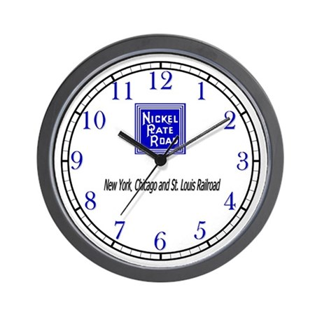 Nickel Plate Road Wall Clock