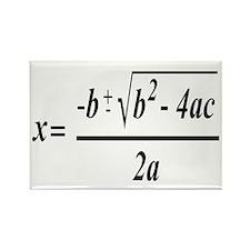 The Quadratic Formula Awesome Math Rectangle Magne