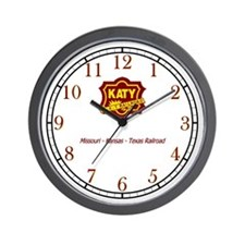Katy Railroad Wall Clock
