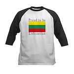 Lithuania Kids Baseball Jersey
