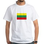Lithuania White T-Shirt