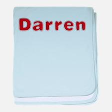 Darren Santa Fur baby blanket