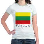 Lithuania Jr. Ringer T-Shirt