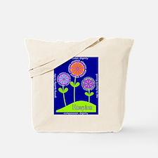 Hospice Blanket Flowers Tote Bag
