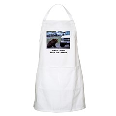 Please Don't Feed The Bears BBQ Apron