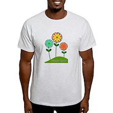Hospice Nurse Flowers T-Shirt