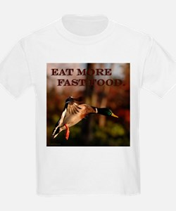 Eat more fast food - Kids T-Shirt