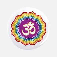 "Seven Chakras Colors 3.5"" Button"