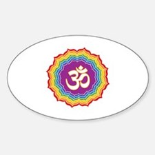 Seven Chakras Colors Decal