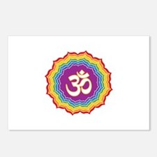 Seven Chakras Colors Postcards (Package of 8)