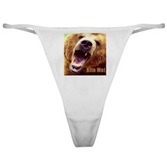 Bite Me Grizzly Classic Thong