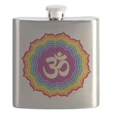 Seven Chakras Colors Flask