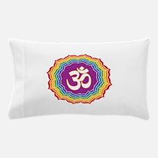 Seven Chakras Colors Pillow Case