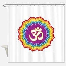 Seven Chakras Colors Shower Curtain