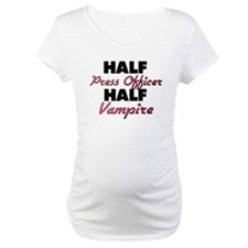 Half Press Officer Half Vampire Shirt