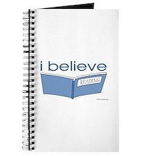 I believe in reading Journal