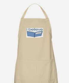 I believe in reading BBQ Apron