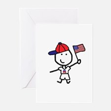 Boy & Republican Greeting Cards (Pk of 10)