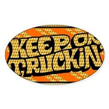 Keep on Truckin' retro design Decal