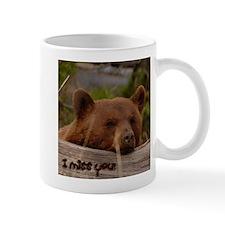I Miss You Cinnamon Bear  Mug