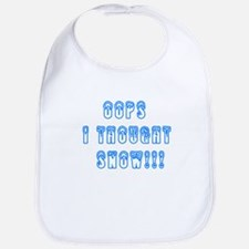Oops I Thought Snow Bib
