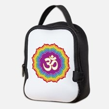 Seven Chakras Colors Neoprene Lunch Bag