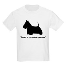 I OWN A VERY NICE PERSON Kids T-Shirt