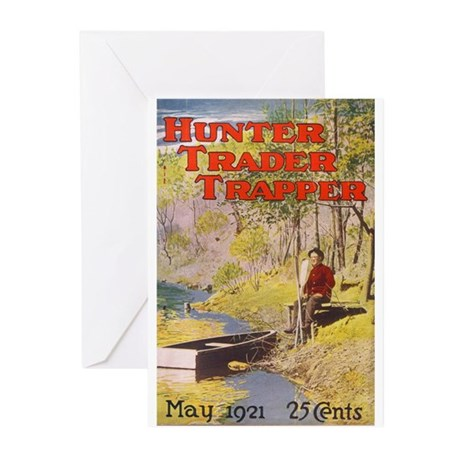 Hunter Trader Trapper Greeting Cards (Pk of 10
