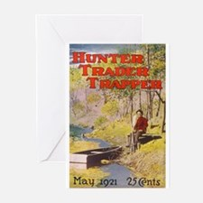 Hunter Trader Trapper Greeting Cards (Pk of 10