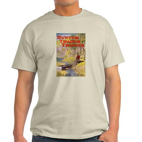 Hunter Trader Trapper Ash Grey T-Shirt