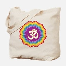 Seven Chakras Colors Tote Bag