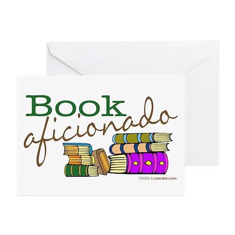 Book Aficionado Greeting Cards (Pk of 10)