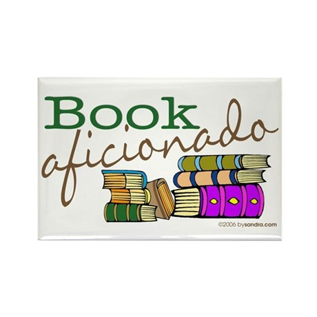 Book Aficionado Rectangle Magnet (100 pack)